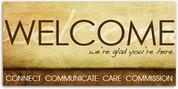 4x8 Welcome Banner WCHZ016