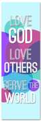 Love God - Serve - Circles