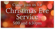 Outdoor Christmas Banner 4A