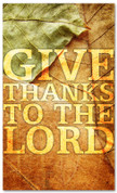 Give Thanks - Fall- HB009 xw
