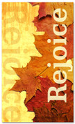 Rejoice Leaves - Fall- HB011 xw