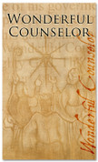 Christmas Banner Wonderful Counselor 821