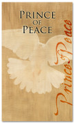 Christmas banner Prince of Peace 739
