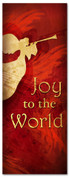 Christmas banner Joy to the world 3x8