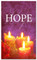 Advent banner in fabric adv021