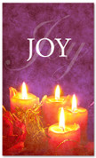 Advent banner in fabric adv024