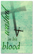 E008 Washed Green -xw - Church Banners