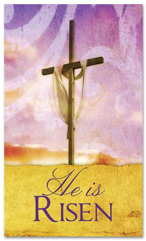E053 He Is Risen -xw - Church Banners .com
