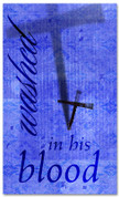 E009 Washed Blue -xw - Church Banners