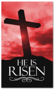 E015 He Is Risen Red -xw