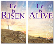 E088 He Is Risen Sunrise Set -xw