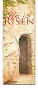 3x8 E036 He Is Risen Tomb