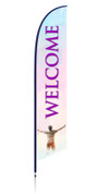 Feather - Outdoor Banner F-15