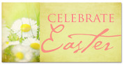 Outdoor Vinyl - Celebrate Easter Flowers