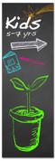 VBS115 Chalkboard Plant