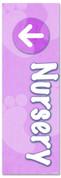 VBS123 Nursery Footprints Purple