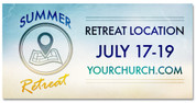 Summer Retreat Pin Drop