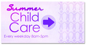 Summer Child Care Purple