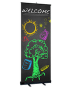 D2 stand banner display - children's ministry welcome banner