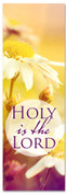 Christian Praise banner - Holy is the Lord