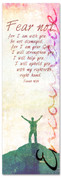 2x6 Encouraging church banner - Isaiah 41:10 Fear Not For I Am With You
