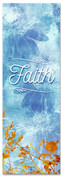 Faith - blue sky praise banner
