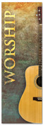 Church Worship banner - Guitar