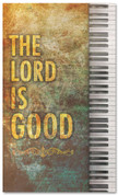 Church Worship banner - The Lord is Good with Piano