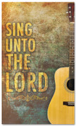 Church Worship banner - Sing unto the Lord
