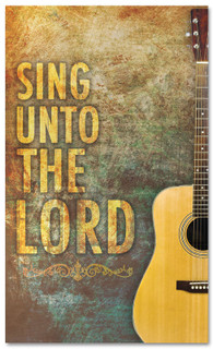 Church Worship banner - Sing unto the Lord