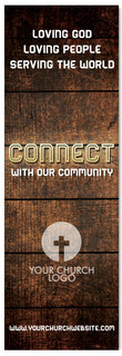 Connect with our Community - Christian Church Banner