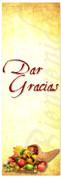 Thanksgiving Spanish banner for church - Dar Gracias
