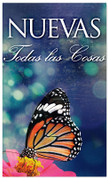 Nuevas todas las consas - Spanish church banner for New Years