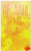 He Aqui yo Hago - Spanish church banner for new years