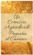 Grateful hearth - Fall harvest Spanish banner