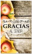 Dar gracias al Senor - Espanol iglesia bandera