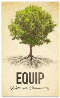 Equip - church connection banner with tree