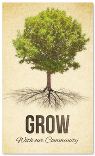 Grow tree - church connection banner