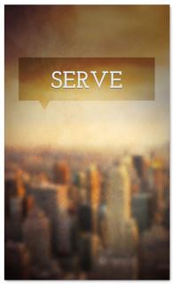 Serve city church connection banner