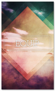 Equip banner - connect at church
