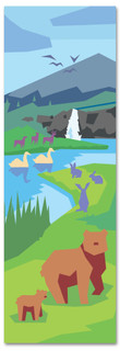 God Created the Animals Kids' Bible Story banner