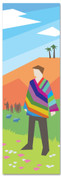 Bible Story church banner for kids - Joseph and the coat of many colors