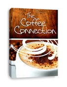 The Coffee Connection Customizable Canvas Banner