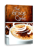 The Grace Cafe Coffee Shop canvas print