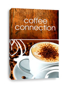 Coffee Shop Connection Canvas Print