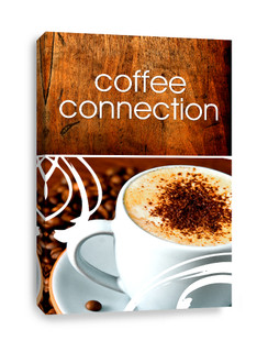 Coffee Shop Connection Canvas Print