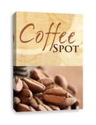 Customizable Coffee Shop Canvas Print