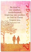 Ephesians 4:32 church banner - Be kind and forgiving as Christ is to you