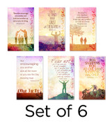 Set of 6 Encouraging Church Banners (3x5ft or 4x6ft)