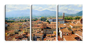 City Landscape Canvas Prints (set of three)